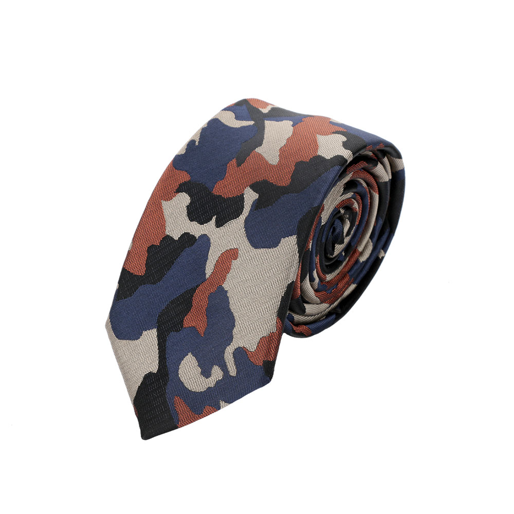 Mens Camouflage Necktie Fashion Polyester Neck Ties