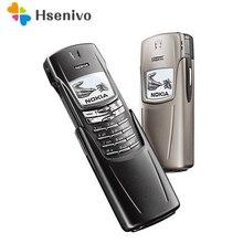 8910 NOKIA 8910 мобильный телефон 2G GSM 900/1800 разблокированный телефон один год гарантии отремонтированный