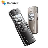8910 оригинальный NOKIA 8910 мобильный телефон 2G GSM 900/1800 разблокированный телефон один год гарантии Восстановленный