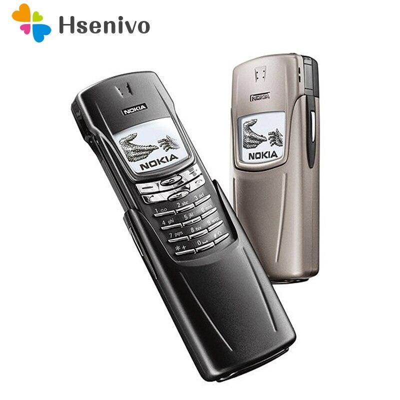 8910 D'origine NOKIA 8910 Téléphone Mobile 2G GSM 900/1800 Débloqué téléphone Un an de garantie remis à neuf