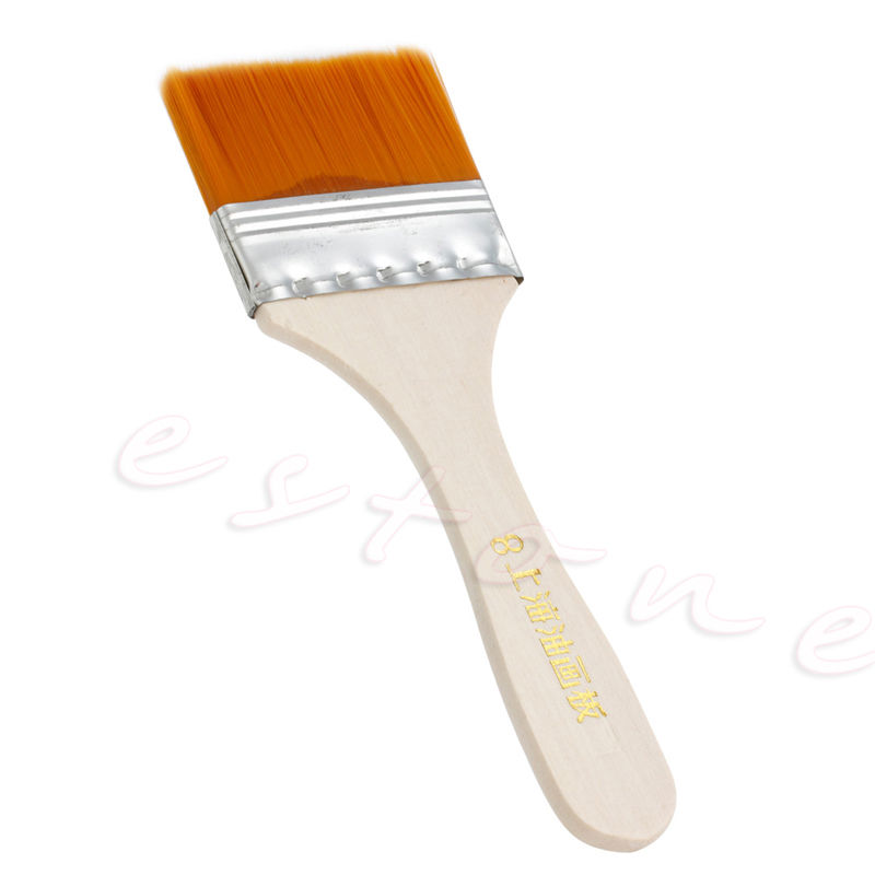 Wooden Painting Brushes for Acrylic and Oil Painting - Set of 12 4