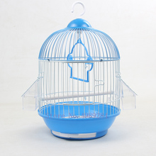 Bird-Cage House Pearl Metal Garden-Accessories Iron Hanging Parrot Outdoor-Decoration