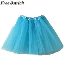 FREE OSTRICH New Pettiskirt Women Ballet Tutu Layered Organza Lace Mini Skirt Cotume Corset Accessories Petticoat 2019(China)
