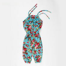 9ec514f92a69 Pants For Girls Kids Casual Beach Overalls Child Teen Girl Princess  One-piece Playsuit Jumpsuit Children Overalls Floral Trouser