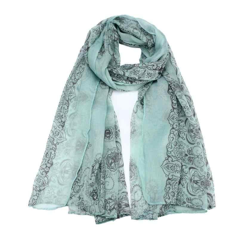 קלאסי רטרו הדפסת צעיף נשים סתיו פריז חוט צעיף לעטוף רך וואל צעיף גבירותיי ארוך צעיפי גלימות חיג 'אב בנדנה # BL5