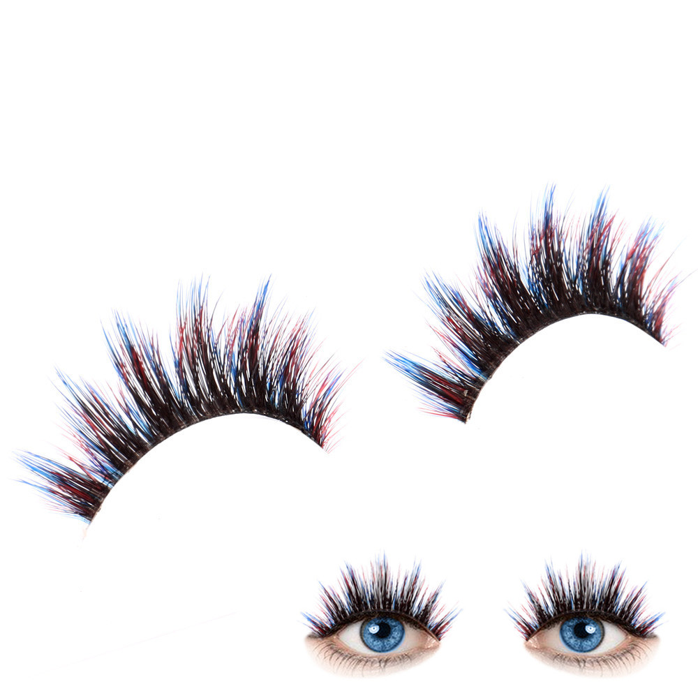 2017 Soft 3D Natural False Eyelashes Hand made Eye Lashes Party Fake Eyelashes Extention Tools Pestanas falsas