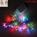 10M 100leds LED Fairy String Light AC110V/220V Holiday Christmas Wedding Garden Party Decoration light EU/US plug