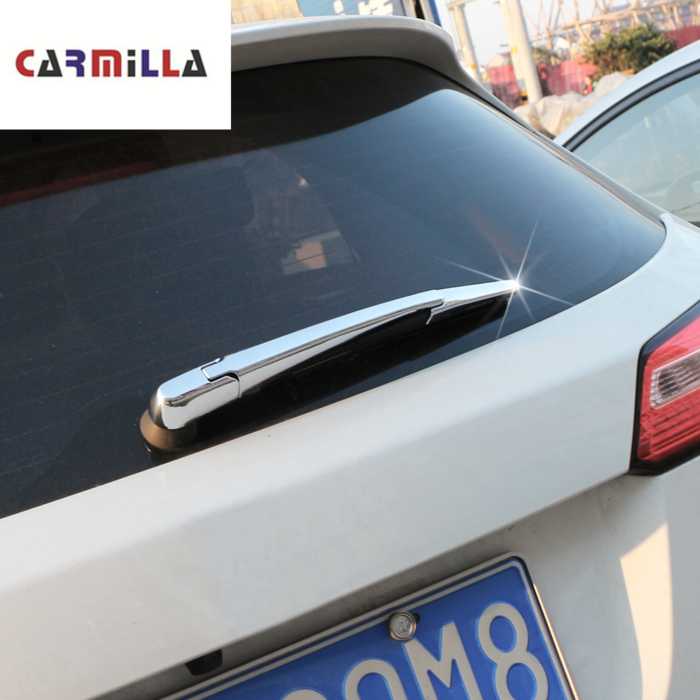 ABS Car Rear Water Wiper Cover for <font><b>Honda</b></font> HR-V <font><b>HRV</b></font> Vezel 2014 2015 2016 2017 2018 Car Styling Kit <font><b>Accessories</b></font> image