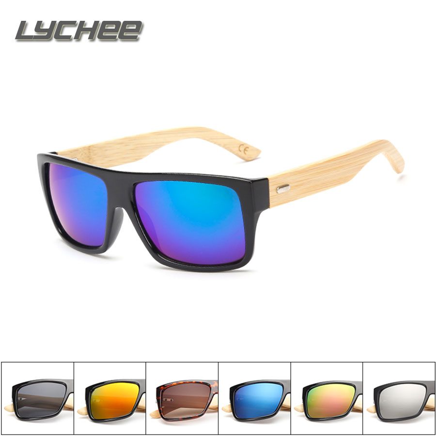 New Bamboo Sunglasses Men Wooden glasses Women Brand Designer Original Wood Sun Glasses fo Women Men