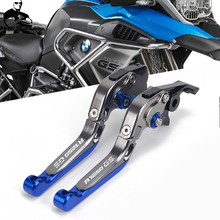 2019 R1250 GS logo Motorcycle CNC Adjustable Brake Clutch Levers For BMW R1250GS LC 2019 R 1250 GS R 1250GS