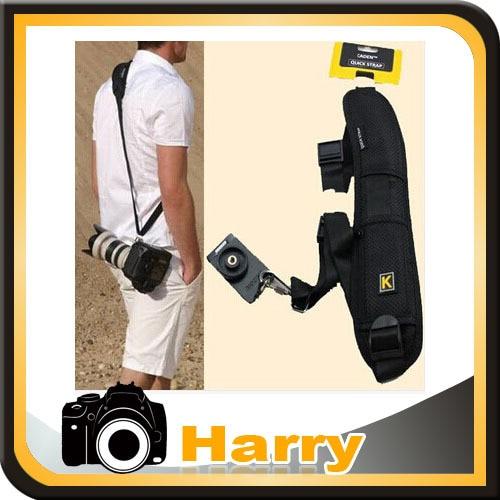 Quick Release Single Shoulder Camera Neck Strap for DSLR Camera 5D 5DII 5DIII 10d 20d D90 D3100 D3200 D7000 D5200 5D4 1DX D4 D5