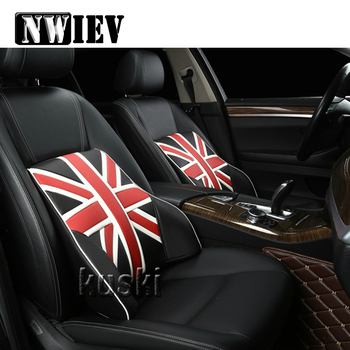 NWIEV 1pcs Comfortable Car Waist Cushion pillow For Hyundai Creta Tucson BMW X5 E53 VW Golf 4 7 5 Tiguan Kia Rio Sportage 2017