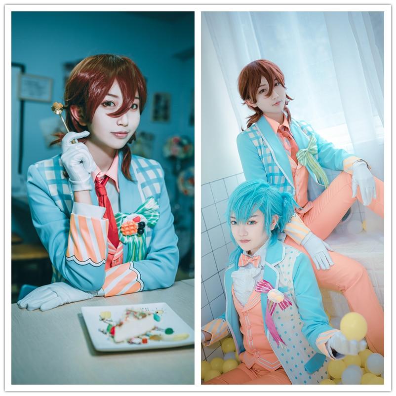 Uta No Prince Sama Sweet Cafe Live Aijima Cecil Syo Jinguji Ren Tokiya Natsuki Masato Ittoki Otoya Stage Fashion Cosplay Costume