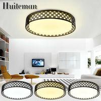 Huiteman Geometric Ceiling Lights Luminaria Avize Modern Led Home Lighting Lustre Lamparas De Techo Plafon Foyer