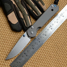 Ben large sebenza folding knife D2 blade TC4 Titanium handle camping hunting outdoor survive travel kitchen knife EDC tools