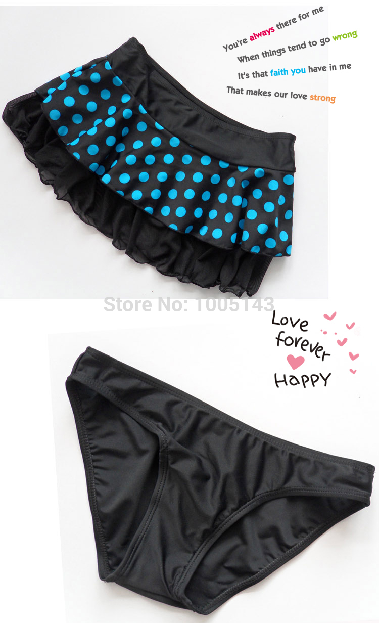 LEBESI 17 New Dot Skirt Bikini Three-piece Female Swimsuit Plus Size Underwire C D E Cup Bikinis Set Swimwear Fast Shipping 8