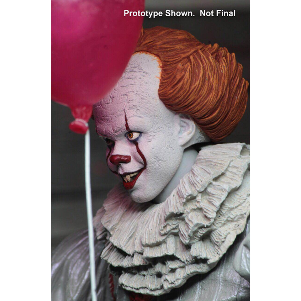 Image 3 - Tronzo  Action  Figure  NECA  IT  Pennywise  Figure 18cm  IT Clown Model Collection Decor For Halloween Gift-in Action & Toy Figures from Toys & Hobbies