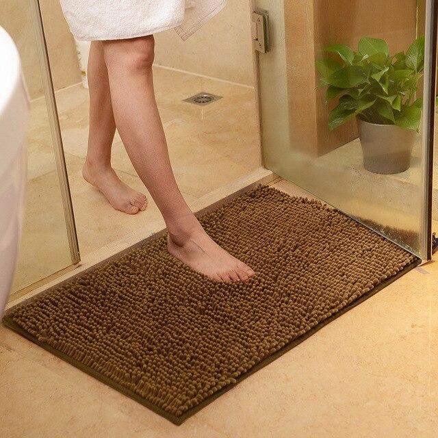 Ciniglia Vasca Da Bagno Toilette Zerbino Anti Slip Super Assorbente Bagno Tappeto Pavimento Della Cucina Zerbino s per Soggiorno Bagno Tappetini alfombra bano