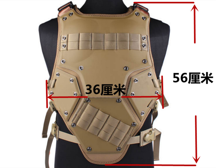 Hard Transformers TF3 combat vest outdoor live CS field equipment including protective jacket