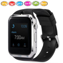2016 neue gd19 smartwatch 1 stücke schwarz blau rot herzfrequenz uhr smart touch uhr-telefon android unterstützung sim-karte mit kamera