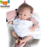 45 Silicone Reborn Baby Doll 16 Lifelike Reborn Baby Dolls Toy Real Touch Pink Bebe Kids