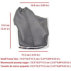 Image 2 - כסף שחור Gear Shift Knob 5 הילוך 6 מהירות ידנית עבור פורד פוקוס 2 MK2 FL MK3 MK4 MK7 מונדיאו KUGA GALAXY פיאסטה רכב סטיילינג