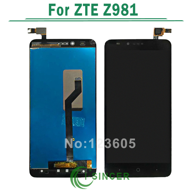 Free Shipping Black For ZTE ZMax Pro Z981 LCD Display Touch Screen Digitizer Assembly