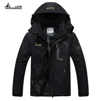 Thermal Jaqueta Thick Outdoor Sport Jacket Winter Jacket Men Windproof Hood Mens Jackets And Coats Outwear