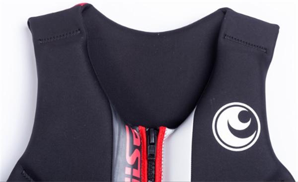 Hisea adult life vest buoyancy thickening drift vest marine snorkeling swimming suit Surfing scuba children lifejacket 4colors06
