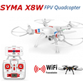 Syma X8W Drone with Camera HD Quadcopter FPV WiFi Real Time Kinda Dron 2.4G 4CH 6 Axis RC Helicoptero Gopro Hexacopter