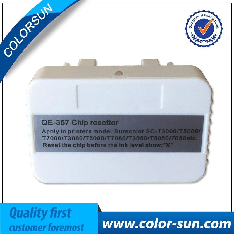 Hot Sale Cartridge Chip Resetter For Epson Surecolor T3200 T5200 T7200 T3000 T5000 T7000 T3050 T5050
