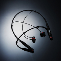 Bluetooth Headphone Sports Neckband Headset Wireless Stereo Earphone Music Headphone Mic For Iphone