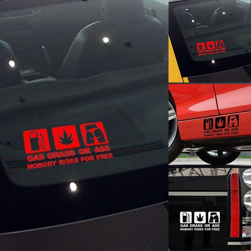 Xcm Funny Car Sticker Reflective Vinyl Decal Car Window Bumper - Badass decals for trucks
