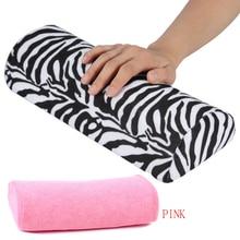 Маникюрные мягкие подставки для рук моющаяся ручная Подушка губка держатель для подушки подлокотники для дизайна ногтей маленькая маникюрная подушка для рук