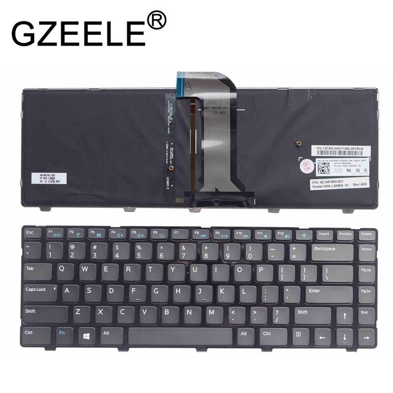 GZEELE New for Dell Inspiron 14 3421 14R 5421 15Z 5523 Vostro 2421 4B+N8T05.001 9Z.N8TBW.01D NSK-L80BW 01 US Backlit Keyboard USGZEELE New for Dell Inspiron 14 3421 14R 5421 15Z 5523 Vostro 2421 4B+N8T05.001 9Z.N8TBW.01D NSK-L80BW 01 US Backlit Keyboard US
