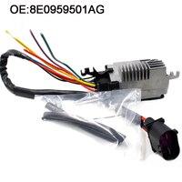 YAOPEI Nieuwe Radiator Cooling Fan Control Unit Module ForAudi A4 A6 Quattro CABRIO 8E0959501G 8E0959501K 8E0959501AB 8E0959501AG