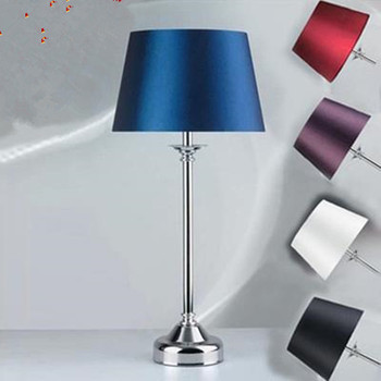Grade fabric table lamp modern minimalist bedroom bedside lamp table lamp SY0177 special festive wedding gift