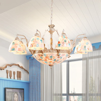 Posey Romantic Beach Chandelier Kitchen Dining Room Living Room Decoration Lamps Preferred Use Of Artistic Lighting