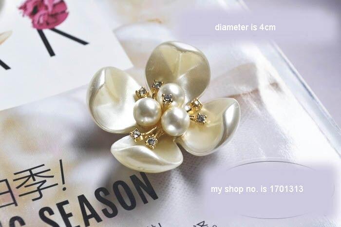 D fatti a mano fiori di perline toppe e stemmi per abbigliamento