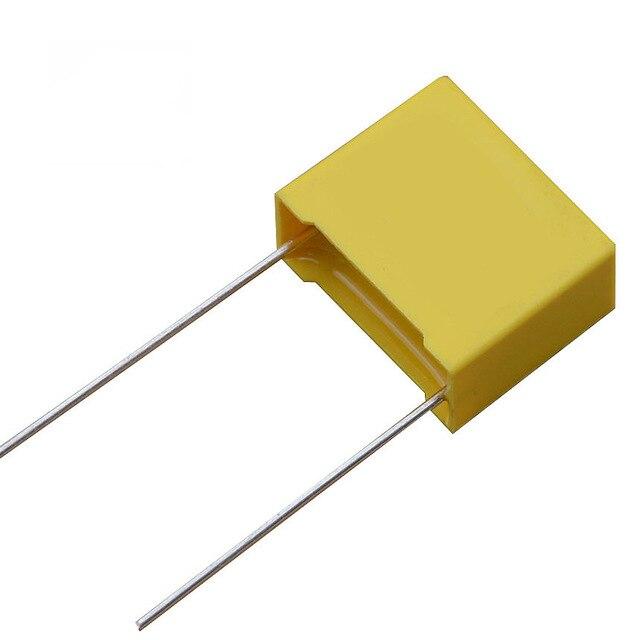 10 шт./лот 0,68 мкФ конденсатор X2 конденсатор 275VAC 680NF шаг 22 мм X2 полипропиленовая пленка конденсатор мкФ