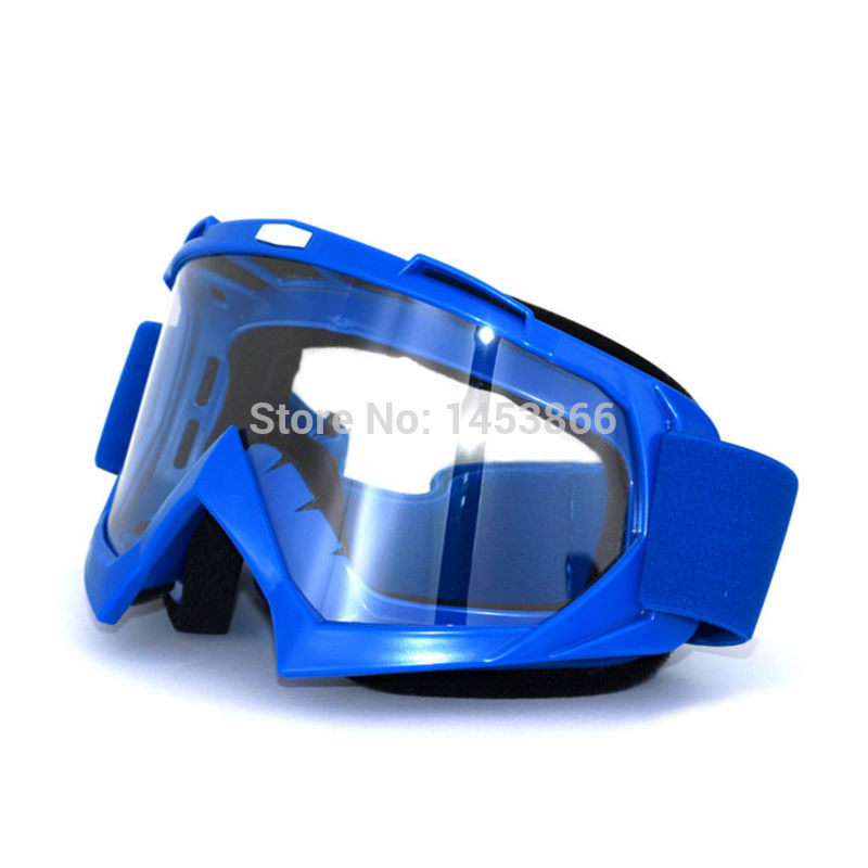 Blue Motocross helmet goggles gafas moto Goggle motorcycle helmets goggles glasses skiing skating eyewear