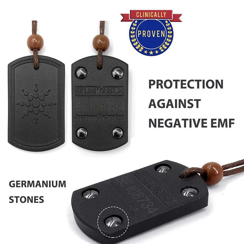 2019 Anti EMF radioprotection pendentif énergie scalaire hommes femmes Ions négatifs rétro pendentif collier été santé vie