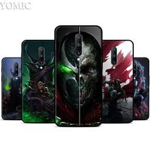 cartoon Spawn Silicone Case for Oneplus 7 7Pro 5T 6 6T Black Soft Case for Oneplus 7 7 Pro TPU Phone Cover