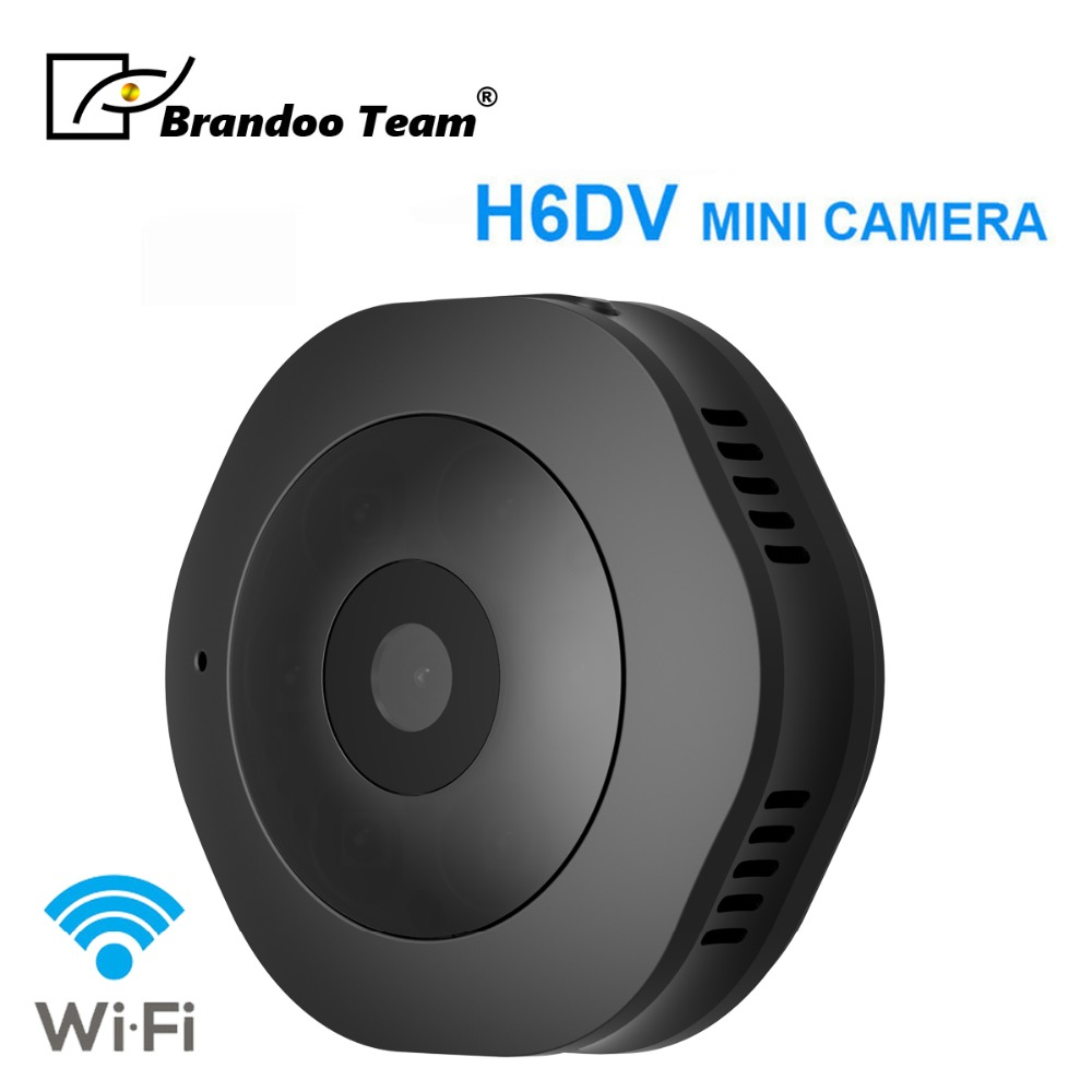 Promotion H6 Night Vision Micro Camera Digital Video Camcorder Motion detection WIFI DV camera