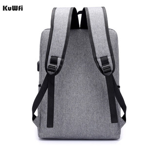 Image 3 - Multifunctional USB charging 15 Inch Backpack Waterproof Laptop Nylon Casual Business Leisure Travel Computer Bag anti thief
