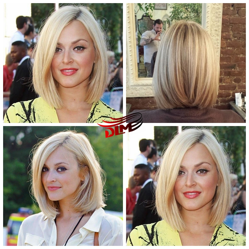 ФОТО Sexy Ombre Blonde Short Bob Lace Front Wigs Synthetic Heat Resistant Lace Front Dark Root Ombre to Blonde Bob Straight Wigs