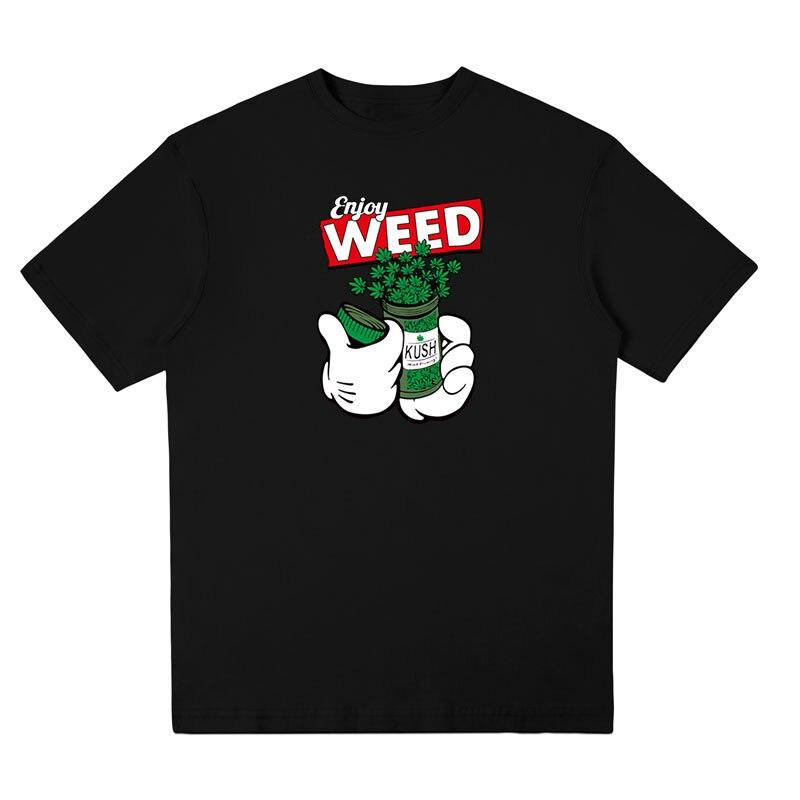 High Quality T-shirt Men Weed Fashion T Shirt Streetwear Mens Tee Shirts Optional Tshirt Oversize 2018 New summer short sleeves