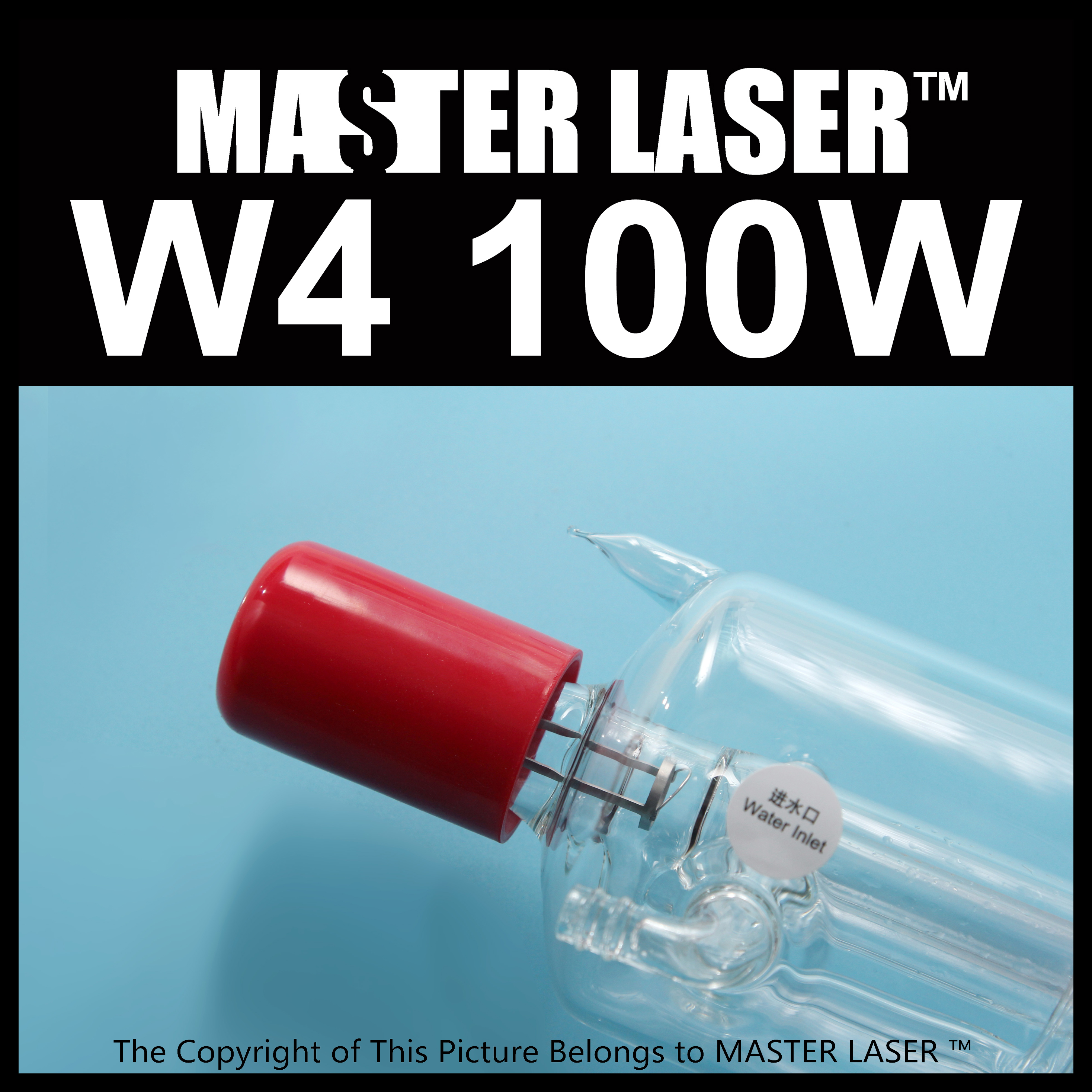 цена на reci W4 Laser Tube CO2 100W Upgrade Z4 Glass Tube for Laser Engraving Cutting Machine