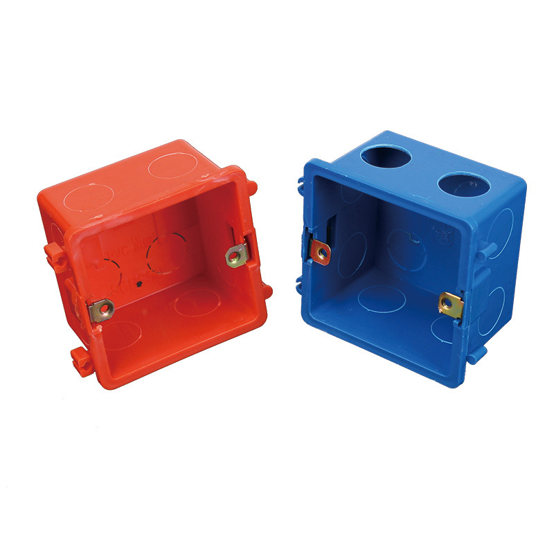 2pcs Plastic Junction Box For Household Pvc Power Switch