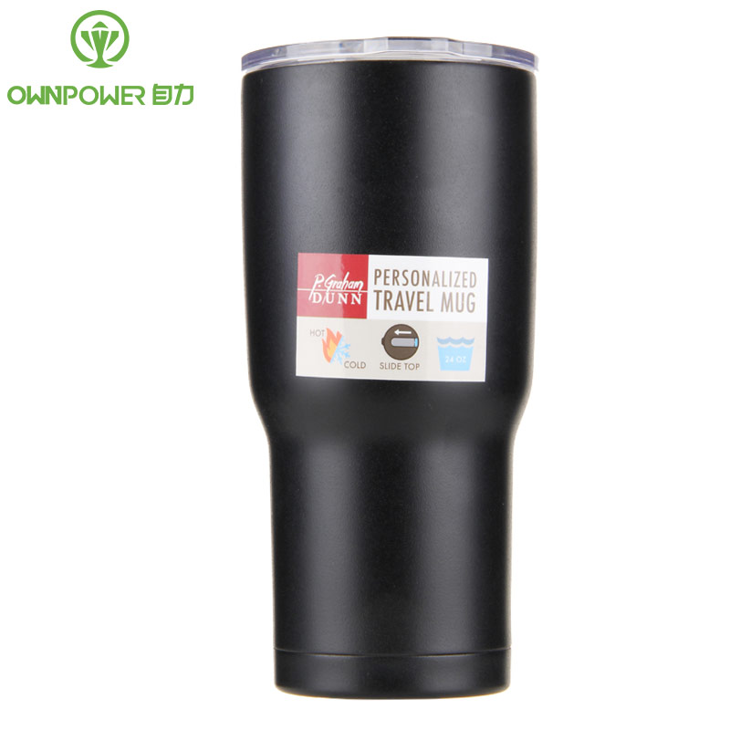 OWNPOWER 450ml Stainless Steel Milk Juice Mug Tea Coffee Cup Home Office Drinkware Water Mugs Camping Travel Insulatio Gift Cup